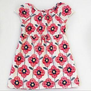 Flower Print Toddler Dress